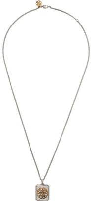 Alexander McQueen Silver Seal Signature Necklace