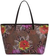 Etro Paisley Printed Coated Canvas Tote Bag