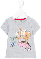 Kenzo cartoon logo T-shirt - kids - Cotton/Spandex/Elastane - 24 mth
