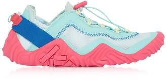 Kenzo Aqua Mesh Wave Low Top Sneakers