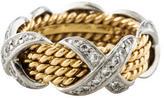Tiffany & Co. Schlumberger Diamond X Band