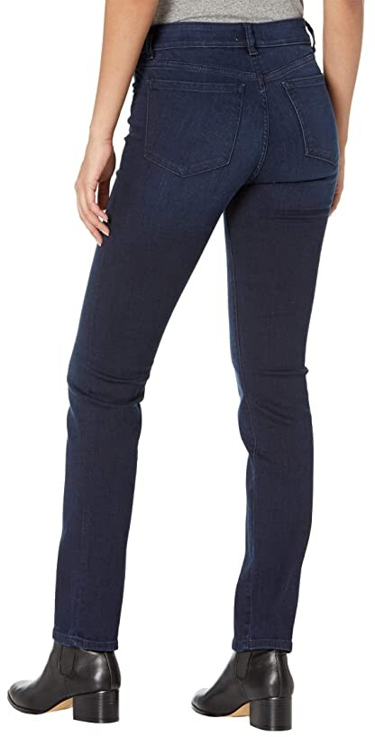 Thumbnail for your product : DL1961 31 Mara Straight Mid-Rise Instasculpt in Matto Women's Jeans