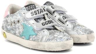 Golden Goose Kids Old School sequined sneakers