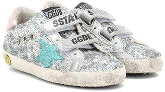 Golden Goose Kids Old School sequined sneakers