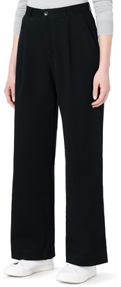 Meraki Amazon Brand Women's Wide Leg Chino Trouser