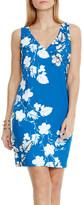 Vince Camuto Floral Shift Dress (Petite)