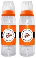 MLB Baby Fanatic 2-Pack Baby Bottle Set