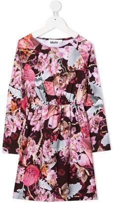 Molo Floral-Print Skater Dress
