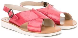 Pépé Crossover Sandals