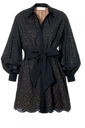 Aggi Mona Pirate Black Dress