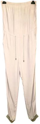 Maison Margiela Grey Viscose Jumpsuits