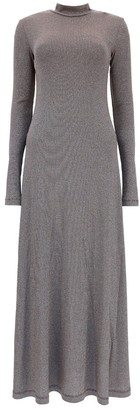 M Missoni Glitter Long Sleeve Maxi Dress