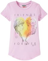 Junk Food Clothing Friends Forever Tee (Toddler/Kid) - Pink - XXS