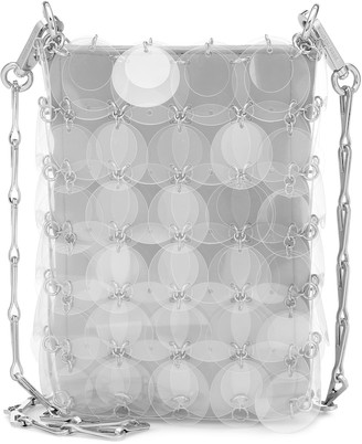 Paco Rabanne Transparent Sparkle 1969 Mini shoulder bag