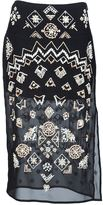 Altuzarra 'Zeramika' beaded skirt - women - Silk/Cotton - 38