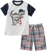Kids Headquarters 2-Pc. Cotton T-Shirt & Shorts Set, Toddler & Little Boys (2T-7)