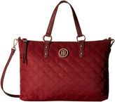 Tommy Hilfiger TH Quilted - Convertible Top Zip Shopper