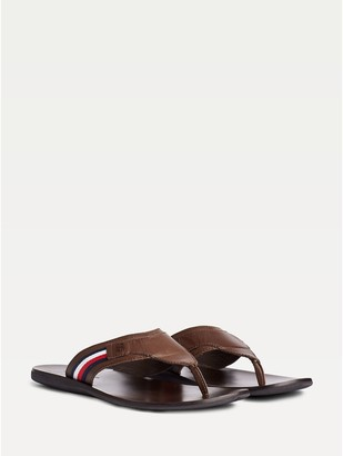 Tommy Hilfiger Icon Stripe Leather Sandal