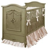 The Well Appointed House Cherubini Crib in Provence Green