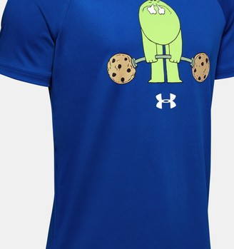 Under Armour Boys' UA Tech Cookie Emoji Short Sleeve