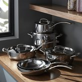 Crate & Barrel Cuisinart ® French Classic Stainless Steel 10-Piece Cookware Set