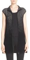 Armani Collezioni Women's Ombre Chevron Knit Vest