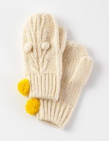 Boden Cable Mittens