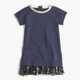 J.Crew Girl's knit dress with sequin hem