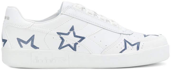 Diadora star motif sneakers