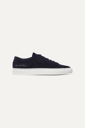 Common Projects Original Achilles Suede Sneakers - Navy