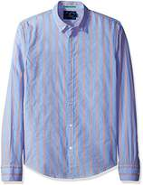 Scotch & Soda Men's Longsleeve Shirt In Crispy Poplin Quality With Special Yarn