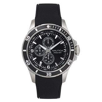 Nautica Men's NAPFRB020 Freeboard Multifunction Silicone Strap Watch