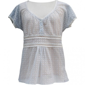 Chanel \N Blue Lace Tops