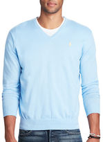 Polo Ralph Lauren Cotton-Cashmere V-Neck Sweater