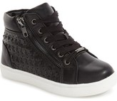 Steve Madden 'Eclypse' High Top Sneaker (Little Kid & Big Kid)