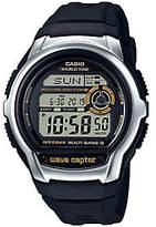 Casio Men's Wave Ceptor Black Atomic World TimeWatch
