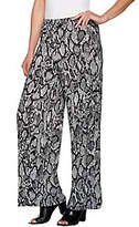 Wide Leg Jersey Knit Pants - ShopStyle