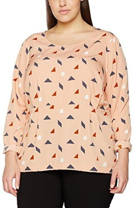 Junarose Women's Plus Size Catherine Long Sleeve Blouse