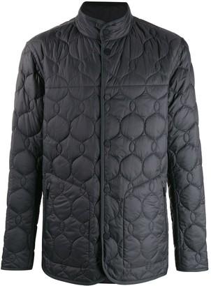Ermenegildo Zegna Quilted Long Sleeve Jacket
