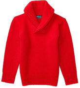 Ralph Lauren Cashmere Shawl-Collar Sweater