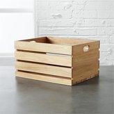 CB2 Eucalyptus Medium Storage Box