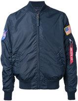 Alpha Industries Nasa Reversible bomber jacket - men - Nylon - S