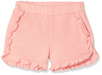 Scotch & Soda Girl's Organic Cotton Jersey Ruffle Shorts