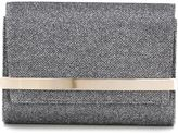 Jimmy Choo Bow clutch - women - Leather/Metal (Other)/Polyurethane - One Size