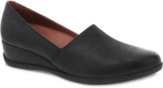 Dansko Women's Leather Slip-On Wedges - Shanda
