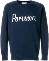 MAISON KITSUNÉ Parisien sweatshirt - men - Cotton - S