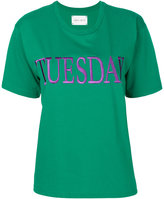 Alberta Ferretti Tuesday embroidered T-shirt