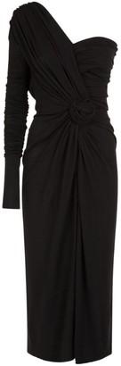 Dolce & Gabbana One-Shoulder Ruched Dress