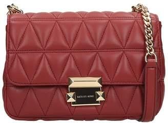 Michael Kors Shoulder Bag In Brown Leather