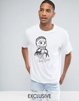 Cheap Monday Boxer T-shirt Skull Logo
